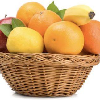 Cesta de frutas ecológicas