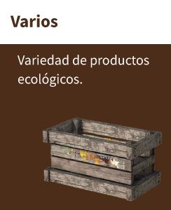 Productos ecológicos en nuestra tienda ecológica online