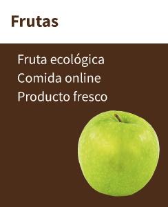 Frutas ecológicas en nuestra tienda ecológica online