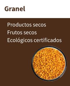 Granel ecológico en nuestra tienda ecológica online