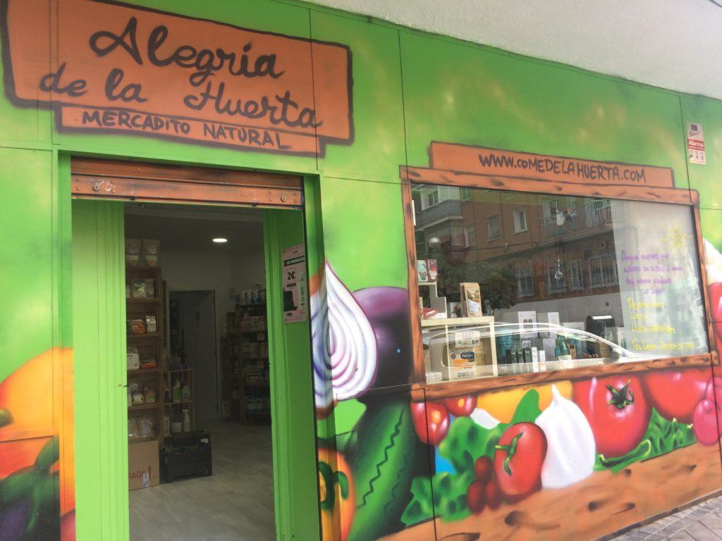 Tienda ecológica online en Leganés