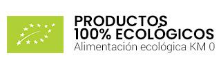 Tienda ecológica online de productos 100% certificados