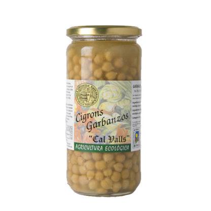 Garbanzos cocidos ECO Cal Valls 450 g
