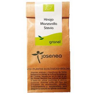 Hinojo Manzanilla Stevia granel 25gr