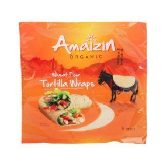 Tortilla trigo Amaizin 6ud
