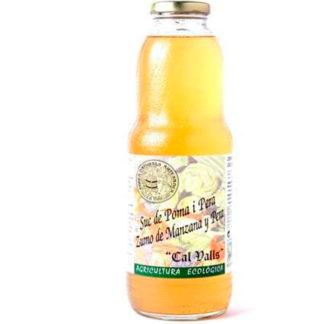 zumo de manzana y pera