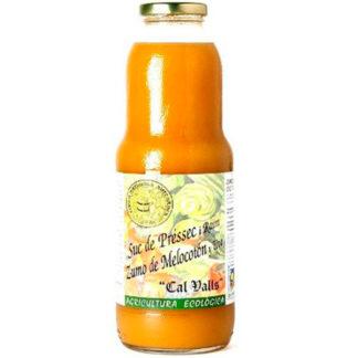 zumo de melocoton y uva1l