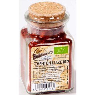 Pimentón dulce 80 gr Bioartesa ecológico
