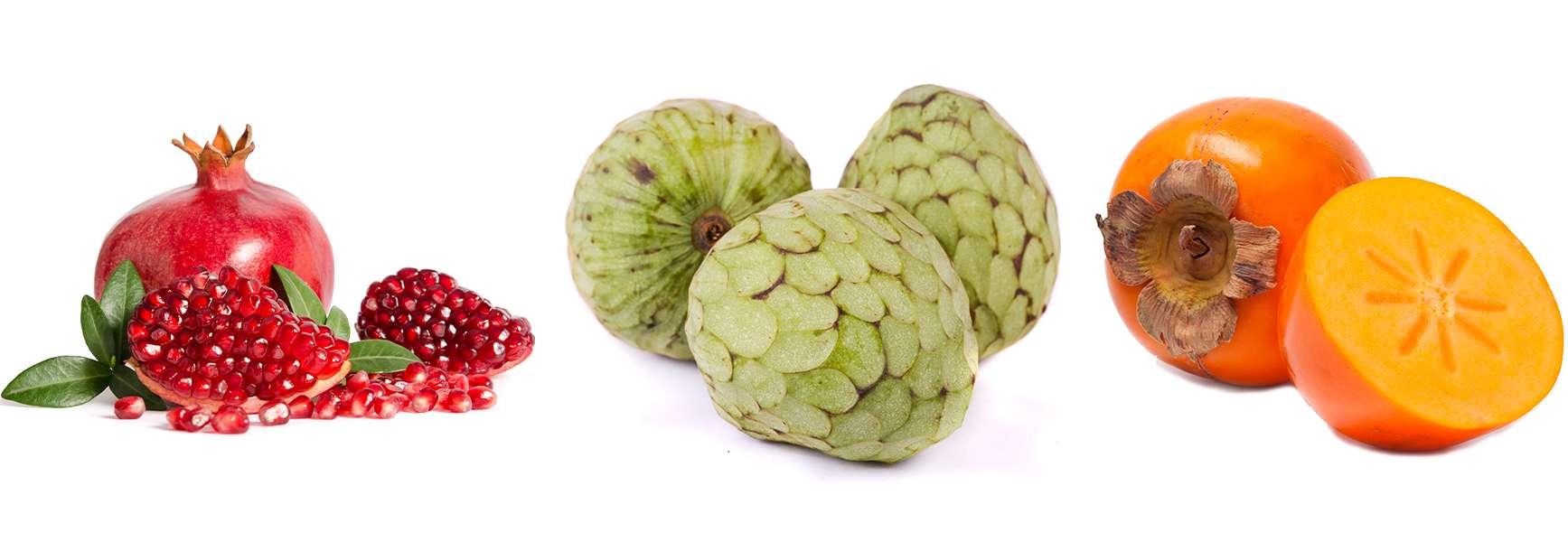 Fruta ecológica de temporada otoño invierno