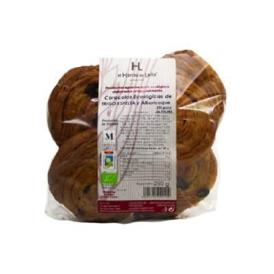 Caracola-de-espelta-con-mantequilla - COMEDELAHUERTA