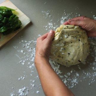 Empanada vegana de algas 150 grs Biopan