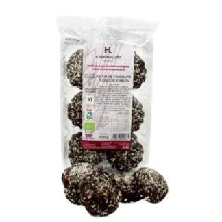 pastas-de-chocolate-y-coco-de-espelta-ecológico - COMEDELAHUERTA