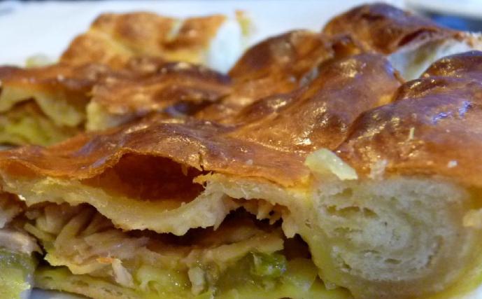 Receta empanada gallega con calabizo
