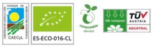Sellos de certificación ecológica de Biobardales